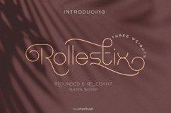 Rollestix - Rounded & Elegant sans serif Product Image 1