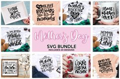 Mothers Day SVG, Mother's Day SVG, Mom svg, Mama SVG Product Image 4