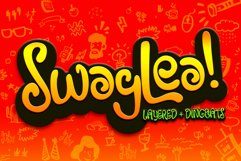 Swaylea | Layered Font and Dingbats Product Image 1