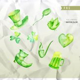 St Patrick's day clipart commercial use, valentine Product Image 3