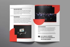 Conference Brochure Bifold Product Image 3