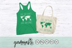 Love Our Planet Save Our Planet SVG Cut File | World Map Product Image 2
