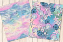 I washed up like this - Summer mermaid Seamless Patterns Product Image 7