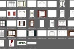 45 Christmas window frames Product Image 4