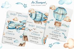 Air transport 2. Watercolor clipart Product Image 8