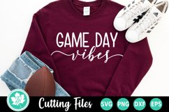 Football SVG | Football Mom SVG | Game Day SVG Product Image 1