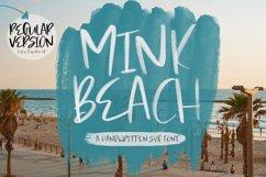 Mink Beach Font & SVG Font Product Image 1