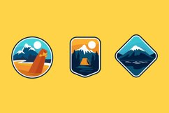 Nature Badge illustrations Product Image 1