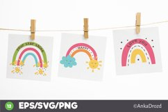 Set Colorful Rainbow clipart png, svg. Happy Baby Rainbow Product Image 2