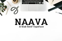 Naava A Slab Serif Typeface Product Image 1