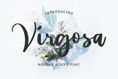 Virgosa Modern Script Font Product Image 1