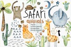 Safari animals. Kit. Product Image 1