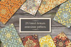 Seamless patterns in ethnic style Product Image 1