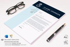 RN Nurse Resume template. Modern Resume format for Nurses Product Image 16