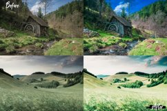 25 Landscape Photoshop Actions, ACR and LUT Presets Product Image 3
