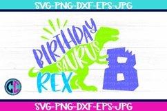 Birthday svg, Boy Eight Rex Svg Product Image 1