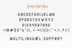 Golden Gate | Handcrafted Font Familyy Product Image 6
