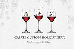 Holiday Alphabet Design Set Product Image 2