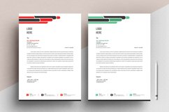 Letterhead Pad Template With Word Apple Pages Format Product Image 4
