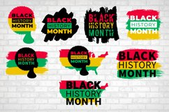 Black History Month Sublimation, African American Bundle PNG Product Image 2