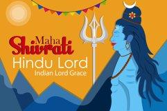 Shiva Deity Illustration Product Image 1