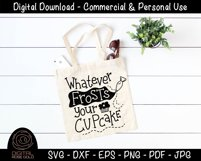 Whatever Frosts Your Cupcake - Funny Food SVG, Baking SVG Product Image 3