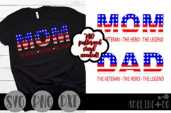 The Veteran, The hero, The legend bundle, SVG, PNG, DXF Product Image 1