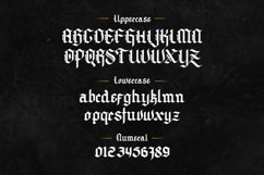 Archking - Blackletter Typeface Product Image 5