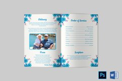 Funeral Program Template | Obituary Template Product Image 3