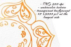 Watercolor chakras clipart 7 chakras set Yoga Meditation Product Image 4