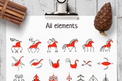 Slavic motives. Design kit. Product Image 5