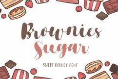 Brownies Sugar - Sweet Bouncy Font Product Image 1