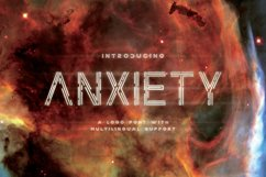 Anxiety Font Product Image 1
