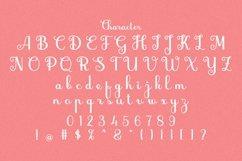 Web Font Zandona Script Product Image 5