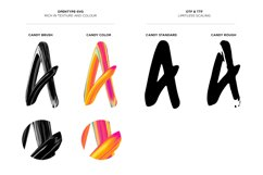 Candy Colour Font Product Image 4