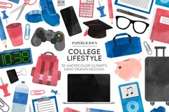 College Cliparts Product Image 1