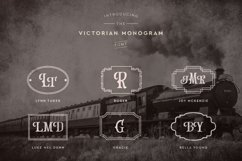 Web Font Victorian Monogram Font Product Image 2