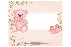 Baby Girl ClipArt Afroamerican Child Fashion Illustration Product Image 4