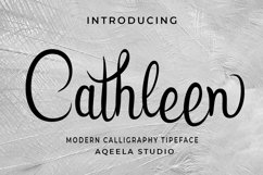 Cathleen Script Product Image 1
