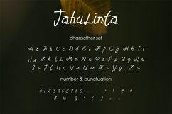 Tabulinta - A Uniquel Font Product Image 5