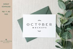 Bundle Mockup Card and Envelope in PSD and JPG | Card mockup Product Image 9