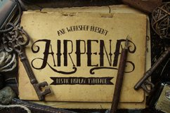 Airpena Rustic Font Product Image 1