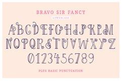 Bravo Sir Font Family Product Image 6