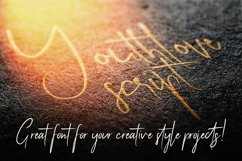 Youthlove Script Font Product Image 4
