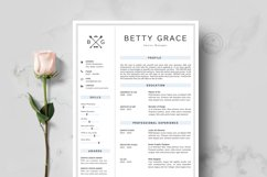 RESUME TEMPLATE CV PAGES Product Image 2