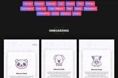 Panda Mobile UI Kit Product Image 3