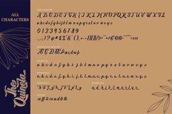 The Quinela | Handwritten Script Font Product Image 6