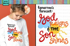 Kids Christian SVG File, Easter Shirt SVG, VBS SVG File, SVG Product Image 1