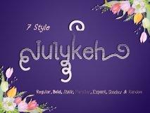 Julykeh handmade 7 Style Font Product Image 4