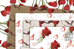 Hand Painted Hearts & Tulips Bundle Product Image 3